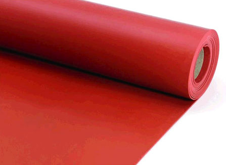 Buy Red Silicone Rubber Sheet Buy Online At Best Offer Price