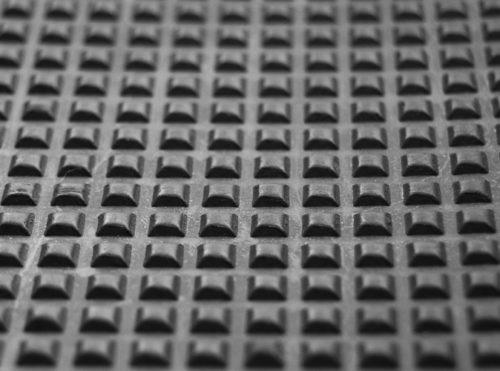 Square Design Mat